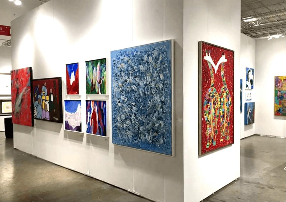 Mark Schiff art exhibition paintings
